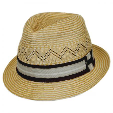 Hatch Hats Panama Natural Fedora Hat