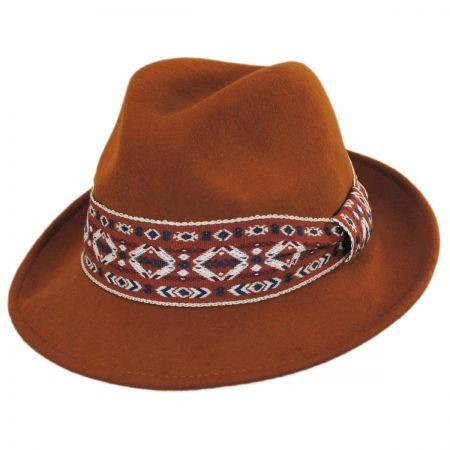 Hatch Hats Jamboree Fedora Hat