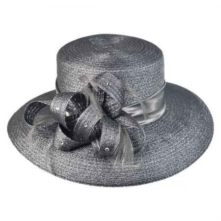 Swan Pewter Boater Hat
