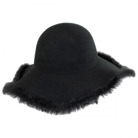 Hatch Hats Fur Edge Floppy Hat