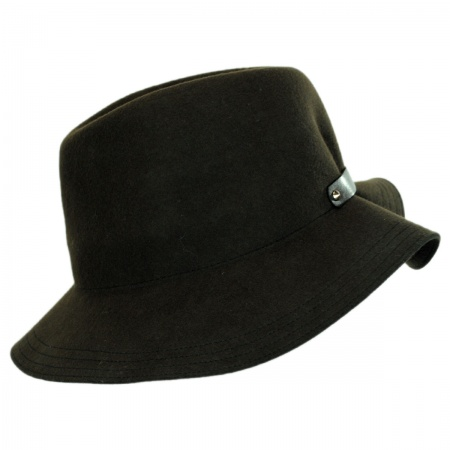 Hatch Hats Back Band Fedora Hat