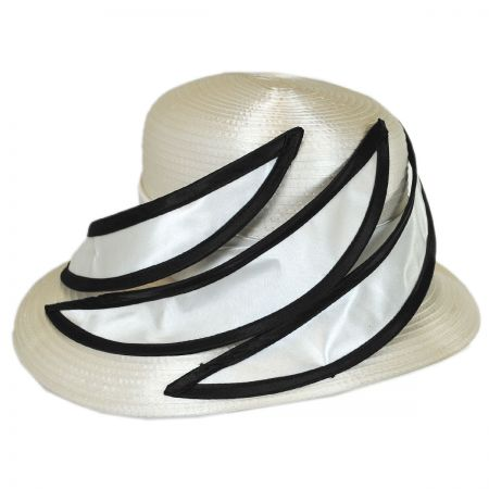 Swan Contrast Blades Downbrim Hat