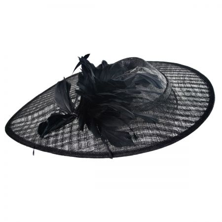 Swan Lady Mary Fascinator