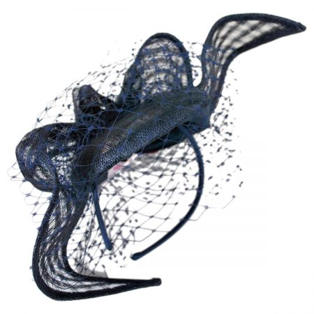 Swan Bluebell Fascinator