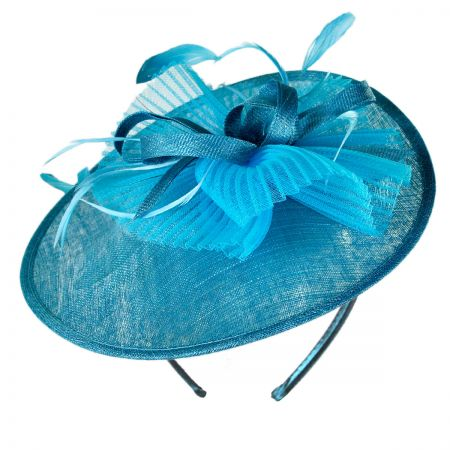 Swan Crimped Fascinator