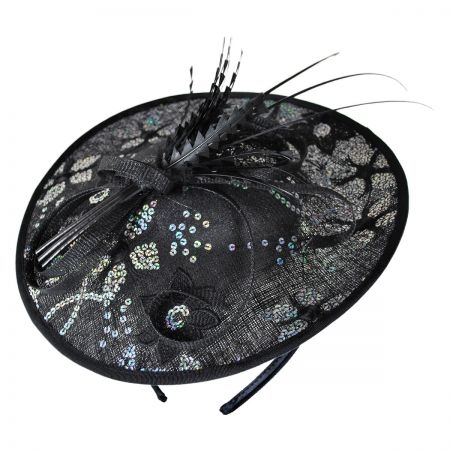 Swan Fireworks Fascinator