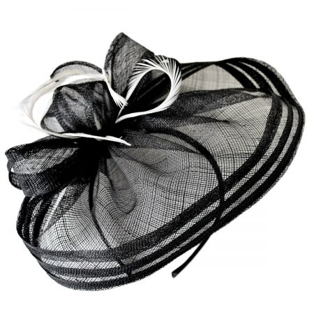 Swan Nightshade Fascinator