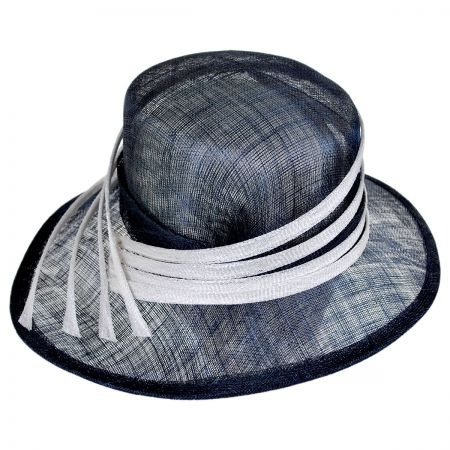 Swan Four Rays Boater Hat