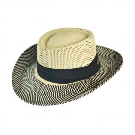 Bigalli Golfer Panama Gambler Hat