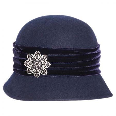 Toucan Brooche Cloche Hat