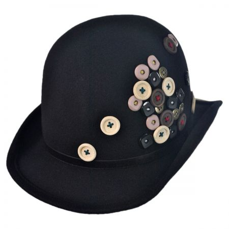 Toucan Button Derby Hat