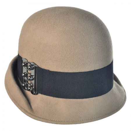 Toucan Folded Edge Belt Fedora Hat