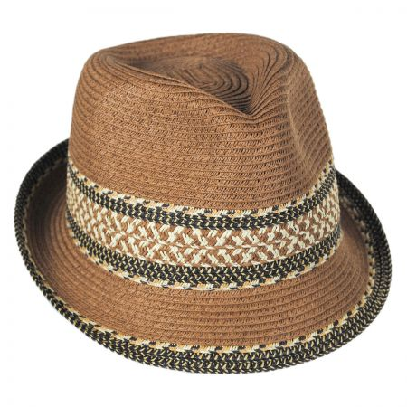 Toucan Mayan Packable Fedora Hat