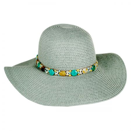Toucan Pebble Trim Floppy Hat