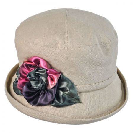 Toucan Silk Pansy Cloche