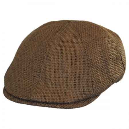 Ben Sherman Straw Driving Cap