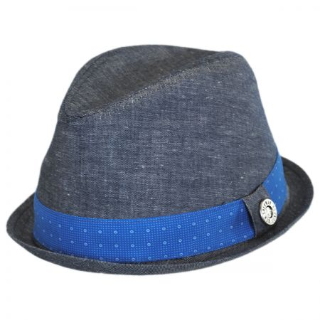 Ben Sherman Cotton/Flax Trilby Hat