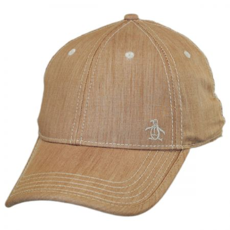 Penguin Chambray Ball Cap