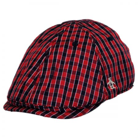 Penguin Mini Cheque Driving Cap