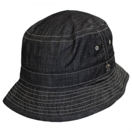 Penguin Chambray Bucket Hat