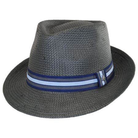 Penguin Straw Fedora Hat