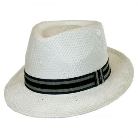 Penguin Straw Fedora Hat