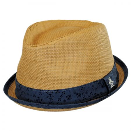 Penguin Bandana Band Fedora Hat