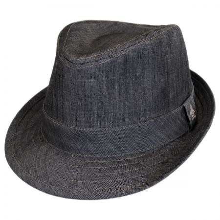 Penguin Chambray Fedora Hat