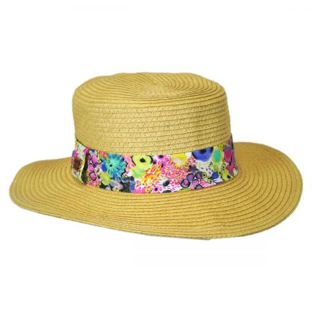 Keds Liberty Straw Boater