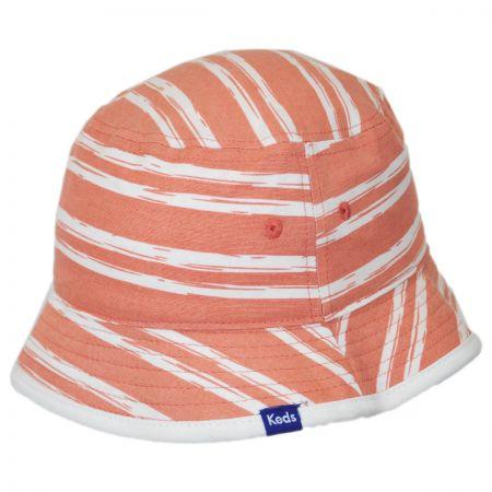 Keds Floral/Stripe Reversible Bucket Hat