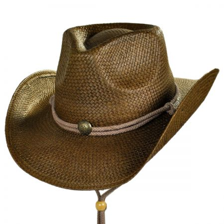 Conner Fairhope Western Straw Hat