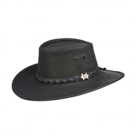 Stockman Smooth Leather Hat