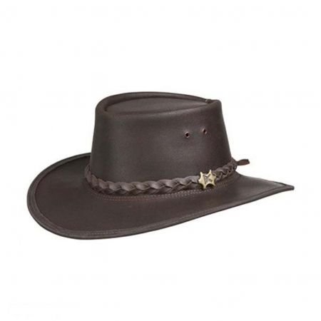 BC Hats Stockman Smooth Leather Hat