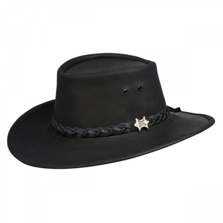 Swagman Wax Oily Leather Hat