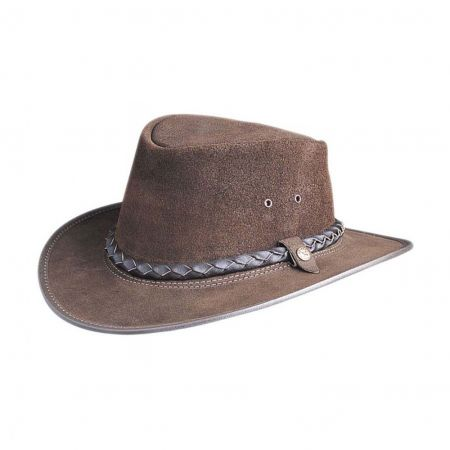 BC Hats Bac Pac Traveller Smooth Leather Hat