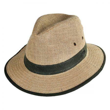 Conner Hemp Linen Safari Hat