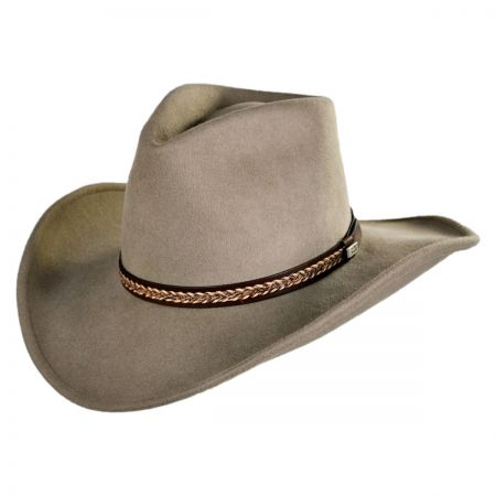 Conner Shapeable Western Wool Hat