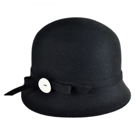 Conner Button Cloche Hat