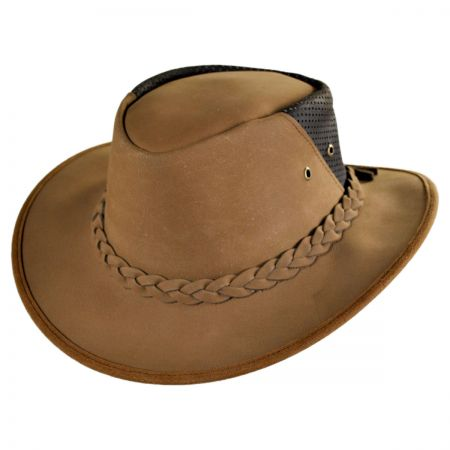 Conner Down Under Leather Breezer Hat