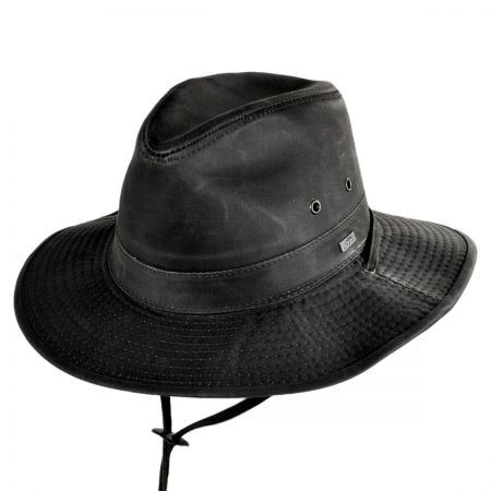 Conner Weathered Cotton Outback Hat