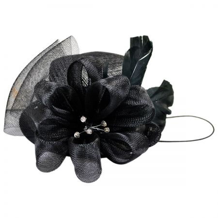 Conner Diamante Mini Top Hat Fascinator