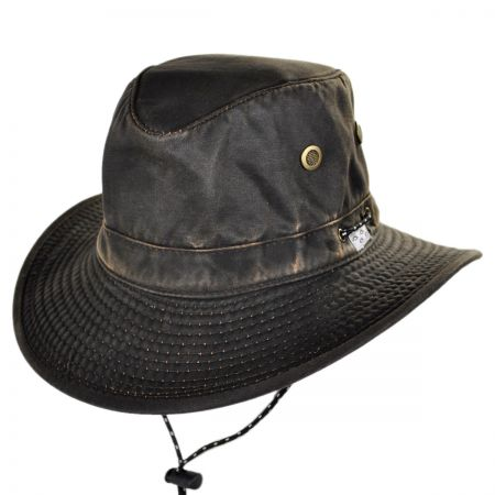 Conner Murchison River Weathered Cotton Boater Hat