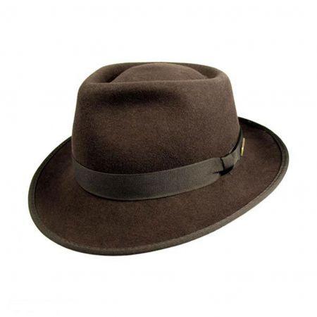 Indiana Jones Kids Crushable Wool Fedora Hat