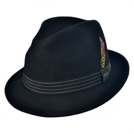 Scala Fashion Felt Fedora Hat
