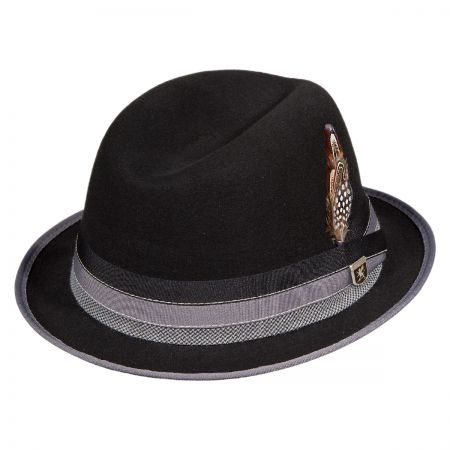 Stacy Adams Crushable Center Dent Fedora Hat