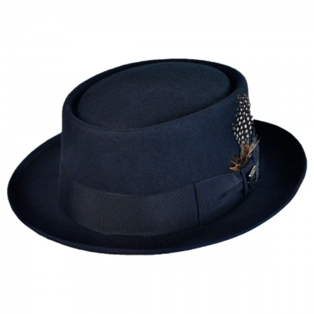 Stacy Adams Classic Pork Pie Hat