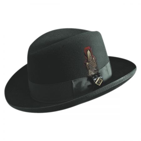 Stacy Adams Homburg Hat