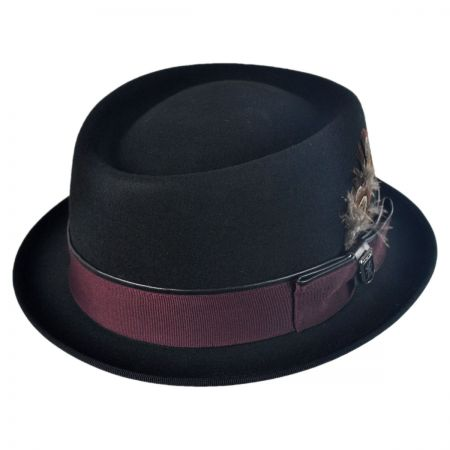 Stacy Adams Crushable Pork Pie Hat