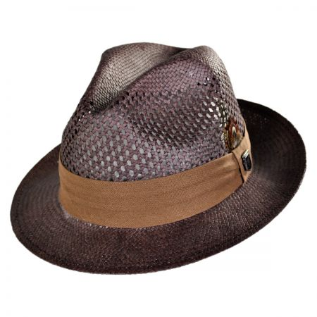 Stacy Adams Vent Fedora Hat