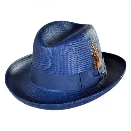 Stacy Adams Toyo Homburg Hat
